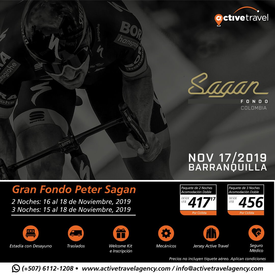 Gran Fondo Peter Sagan - Active Travel Agency