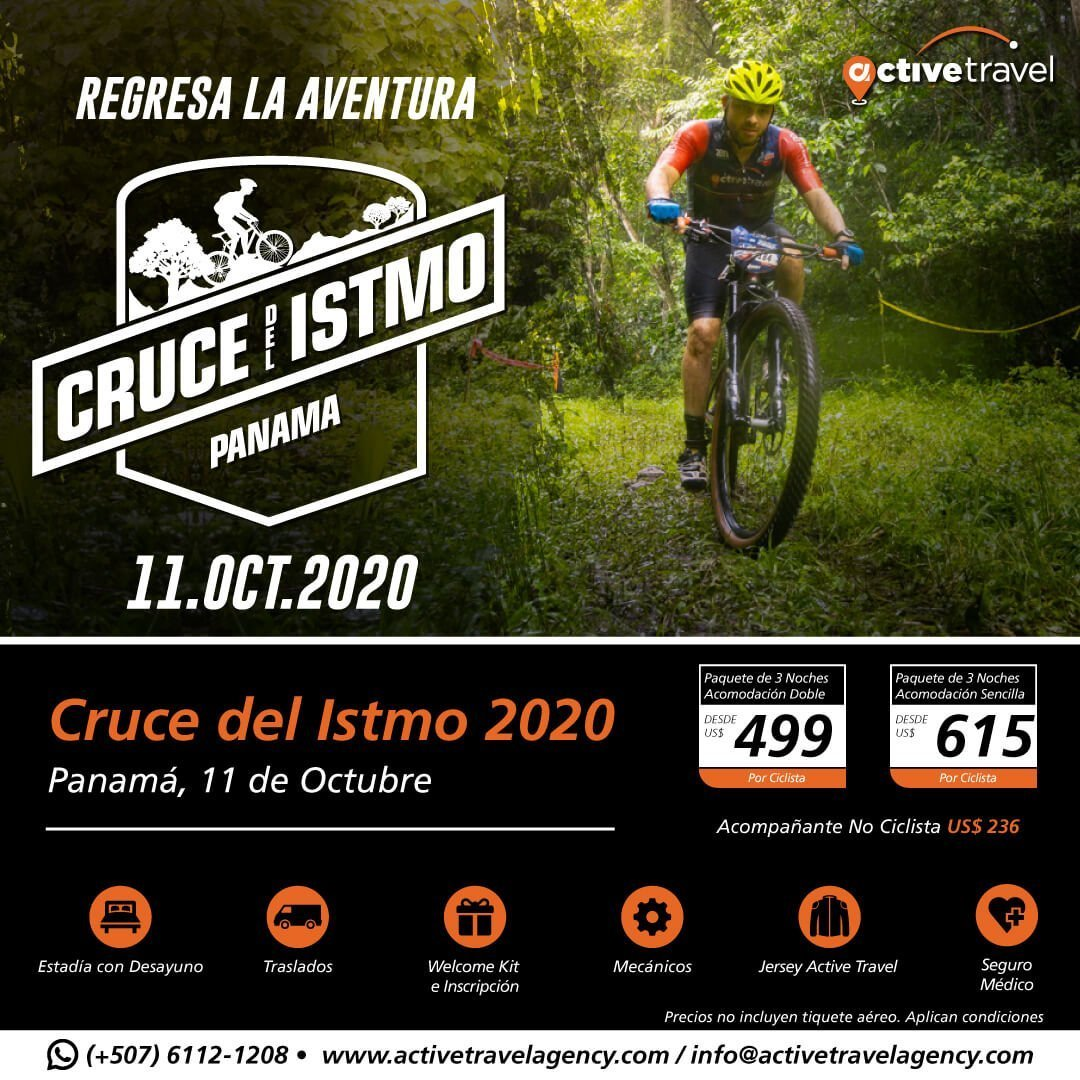 Cruce del Istmo 2020 - Active Travel Agency