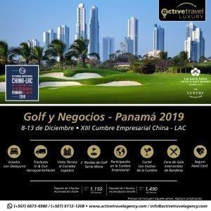 Golf y Negocios - Panamá 2019 - Active Travel Agency