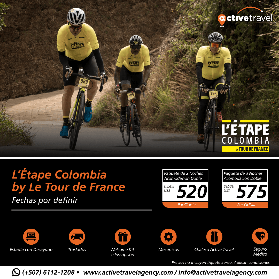 L'ÉTAPE COLOMBIA BY LE TOUR DE FRANCE - Active Travel Agency