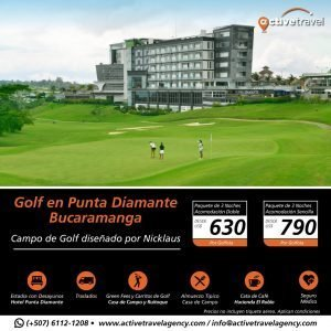 Golf en Bucaramanga - Active Travel Agency
