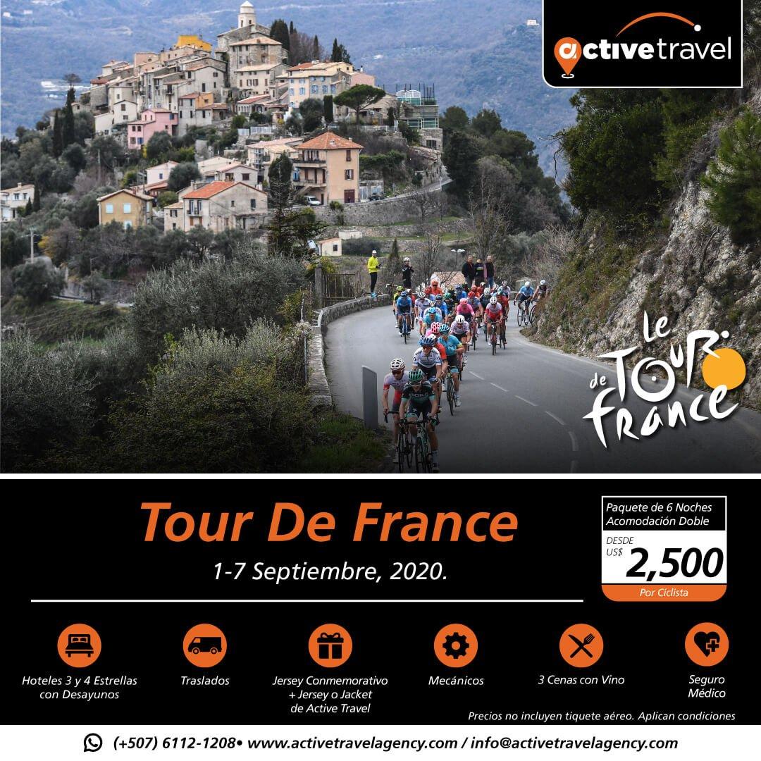 Tour de France 2020 - Active Travel Agency