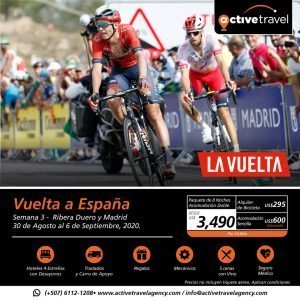 Tour of Spain 2020 / Last week - Galicia, Portugal and Madrid - Active Travel Agency