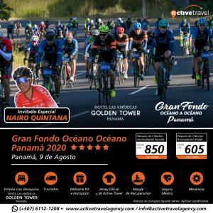 Gran Fondo Océano Océano Panamá 2020 - Active Travel Agency