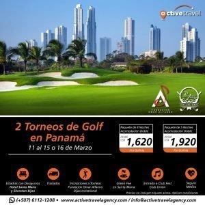 2 Torneos de Golf en Panamá - Active Travel Agency