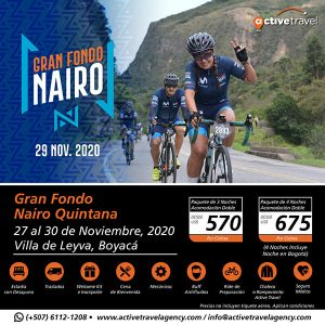 Gran Fondo Nairo Quintana - Active Travel Agency